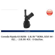 Conexão Mangueira Água Ar Quente A3 /golf /bora /audi