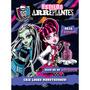 Livro Estilos Arrepiantes Monster High - Dcl
