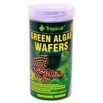 Ração Para Peixe Green Algae Wafers Tropical 113g 250ml