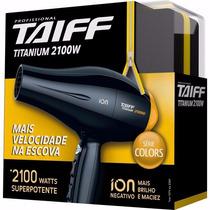 Secador Taiff Profissional Titanium 2100w 110 Ou 220v