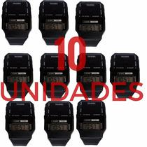 10 Relógios Fala Hora Digital Unissex Def Visual Idoso