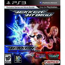 Game Ps3 Tekken Hybrids