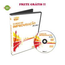 Curso Dvd Video Aula De Improvisação Alan Gomes Vol. 1 Frete