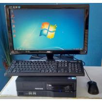 Computador I3, Mem. 4gb, Hd 500gb, Monitor Aoc 20(semi-novo)