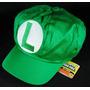 Boina Luigi Cosplay - Super Mario Bros