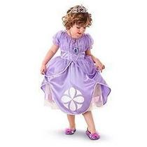 Vestido Princesa Sofia Fantasia Pronta Entrega Frete Grátis
