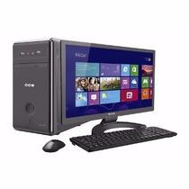 Computador Desktop Cce Mp43 Celeron 4gb 320gb 15.6 Wide