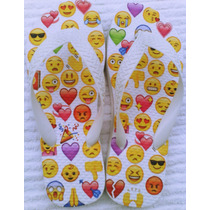 Chinelo Sandália Emojis Emotions Facebook Whatsapp Lindo