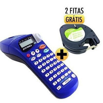 Rotulador Etiquetas Adesivas Letra Tag Dymo C/2 Fitas Grátis