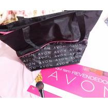 Bolsa Revendedora Avon+placa Revendedora