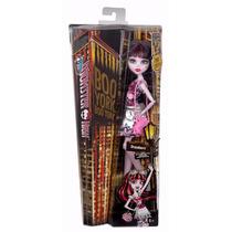 Boneca Monster High Boo York Draculaura - Original+brinde!!!