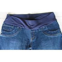 Calça Jeans Maternidade Grávida Gestante Tamanho M