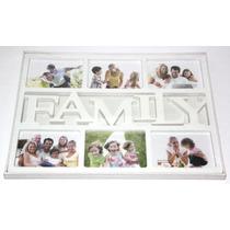 Quadro Painel De 6 Fotos Porta Retratos Love Family Decor
