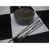 Termotape Titanium 10 Metros Com 5 Abraçadeiras Fita Térmica