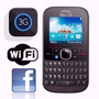 Celular Smart Alcatel Teclado 3075 Wi-fi Facebook Internet
