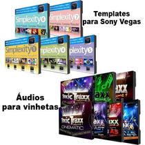Projetos Editáveis Para Sony Vegas Mais Áudios Para Vinhetas