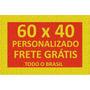 Tapete Capacho Personalizado 60x40 + Frete Grátis Em 12x