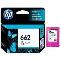 Cartucho Hp 662 Color Original Impressora Hp 2546 2516 3516