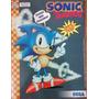 Álbum Figurinha Vazio Multi Editora Sonic The Hedgehog