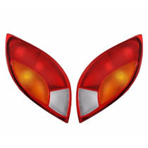 Par Lanterna Traseira Ka 97 98 99 00 01 Tricolor