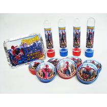 Kit Festa Personalizado Spider-man C/ 60 Itens Homem Aranha