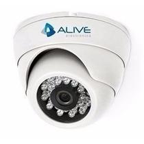 Câmera Mini Dome Infra Vermelho Mdir120 20mts Ccd Sony Alive