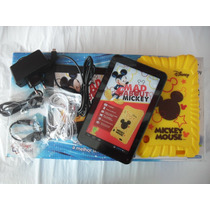 Tablet Tectoy Semi Novo Mickey Mouse Tt2710 Completo
