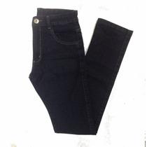 Calça Masculina Jeans Black And Blue Basica Elastano 38 Ao48