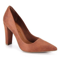 Sapato Scarpin Feminino Bebecê - Caramelo