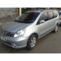 Nissan Grand Livina S 1.8 2012 Prata - Impecável - 7 Lugares