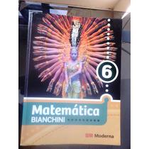 Livro De Matemática 6 - Bianchini - Editora Moderna