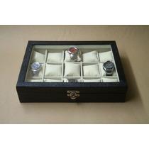 Estojo Para 15 Relógios, Caixa Relógio, Promoção !!!