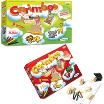Brinquedo Carimbo Educativo Tema Animais Selvagens E Frutas