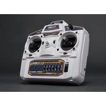 Rádio Hobbyking Hk6s 2.4ghz Fhss 6ch Tx & Rx (branco) Modo 2