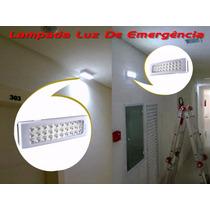 Lampada Luz De Emergência Recarregavel 30 Led Bivolt Ecplamp