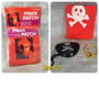 produto 50 Kits Piratas Com  03 Itens Cada ( Bandana , Tapa Olho , B