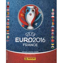 Álbum Figurinhas Euro 2016 - Completo - Para Colar Eurocopa