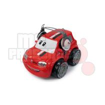 Carrinho De Controle Remoto Uno Vermelho Fiat-fun 3 Funções
