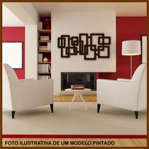 Quadro De Parede - Escultura - 1 Metro - Mdf Cru