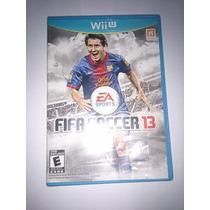 Fifa Soccer 13 2013 Nintendo Wiiu Americano E Lacrado!