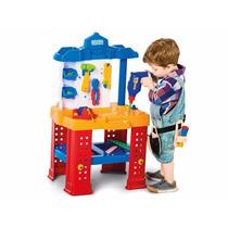 Brinquedo Bancada De Trabalho Calesita Ref 450 Frete Gratis