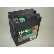Bateria De Moto Heliar Twister Fazer 250 Htz-bl 12v 6ah Htz7