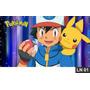 Pokemon Pikachu Painel 3m² Lona Festa Banner Aniversários