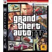 Jogo Grand Theft Aut Iv Gta 4 Play 3 Original Midia Fisica