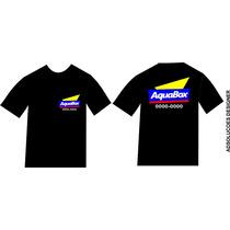 Camiseta Personalizadas Com Sua Logo Marca 4 Cor De Empressa