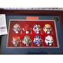 Mini Máscaras Ópera Chinesa Em Moldura Quadro Decorativo