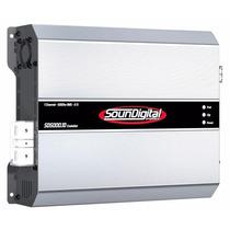 Modulo Amplificador Soundigital Sd5000 Evo 5000w 2ohms