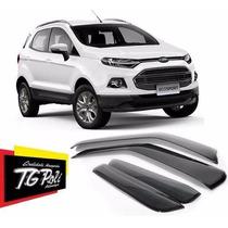 Calha De Chuva Defletora Tg Poli Ford Eco-sport 2013/2014 4p