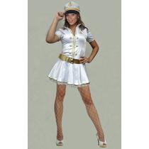 Fantasia Capitã Marinha Adulto