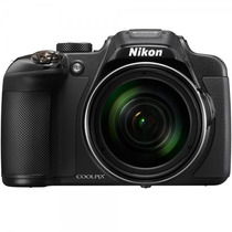Câmera Digital Nikon Coolpix P610 Full Hd 16 Mp - Preta